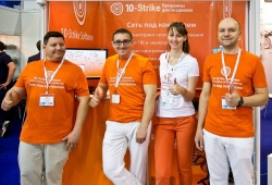 10-Strike's team at expo