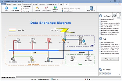 Network diagram builder how to build network diagram automatically network diagram on web ccuart Gallery