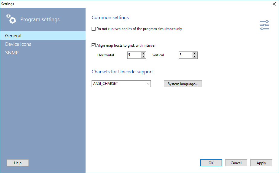 10 strike network diagram program settings 2 on the program settings window select the device arrangement section and deselect the detect automatically option ccuart Choice Image