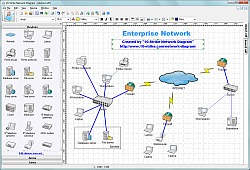 strike network diagram   software for creating topology diagrams  strike network diagram screenshots