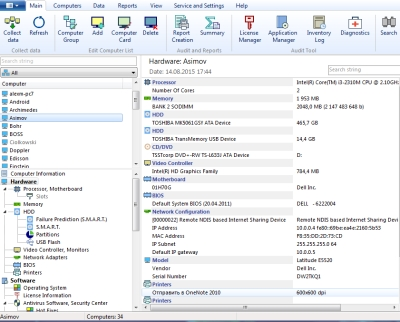 Click to view 10-Strike Network Inventory Explorer 5.52 screenshot